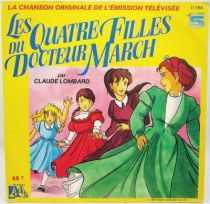 Les Quatre Filles du Docteur March - Disque 45Tours - Bande Originale Série Tv - Disques Ades 1989