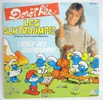 Les Schtroumpfs - Disque 45T - L\'école des Schtroumpfs - AB Prod. 1983