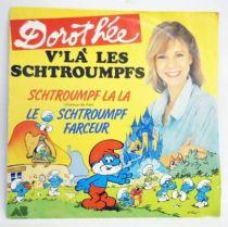 Les Schtroumpfs - Disque 45T - V\'là les Schtroumpf - AB Prod. 1984