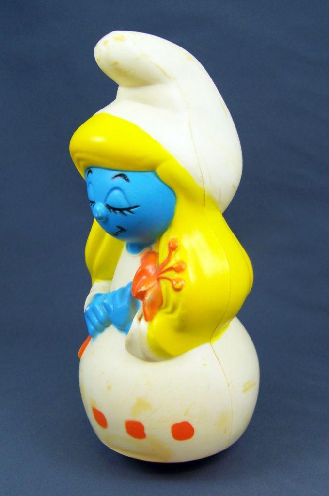 Les Schtroumpfs - Figurine Culbuto Sonore - Schtroumpfette 23cm 02