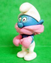 Les Schtroumpfs - Figurine Démontable Premium Kinder Surprise - Schtroumpf  Frilleux
