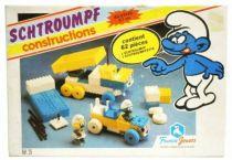 Les Schtroumpfs - France Jouets - Schtroumpf Construction (neuf en boite)