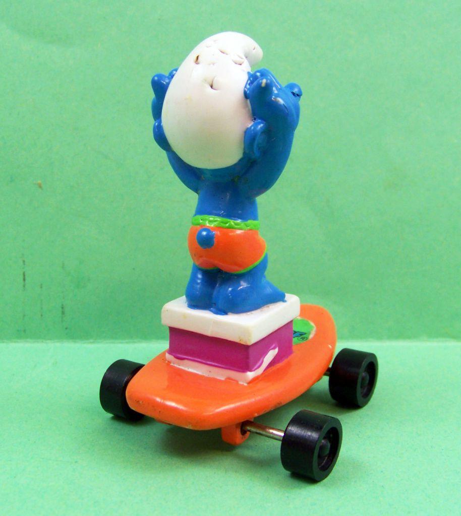 Les Schtroumpfs - Hardee\'s - Schtroumpf plongeoir sur skate orange