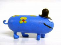 Les Shadoks - Jim Figure - Gibi with 4 legs (blue)