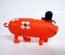 Les Shadoks - Jim Figure - Gibi with 4 legs (orange)