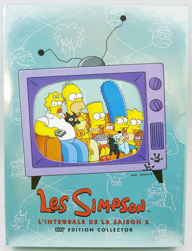 Les Simpson - DVD - L\'intégrale de la Saison 2 Edition Collector