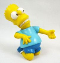 Les Simpsons - Figurine PVC - Bart Air Guitar - Bully TCFFC 1990