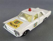 Lesney Matchbox N° 55/59 Ford Galaxie Police Car