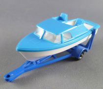 Lesney Matchbox N° 9 Trailer & Speedboat