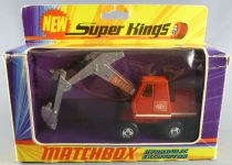 Lesney Matchbox Super King K-1 Excavatrice Hydraulique MH6 Proche Neuf Boite