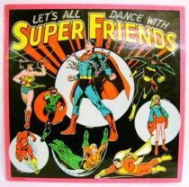 Let\'s all dance with Super Friends - Record LP - Warner Bros Music France 1978