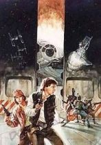 Lithograph - Star Wars Smuggler's Moon Signed Art Print by Dave Dorman (1064/1500)