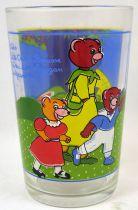 Little Brown Bear - Amora Mustard glass