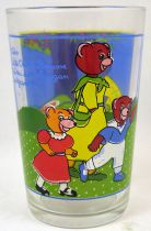 Little Brown Bear - Amora Mustard glass