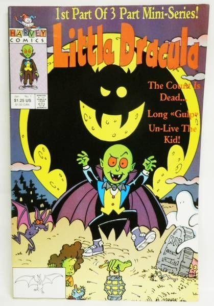 Little Dracula - Harvey Comics - Little Dracula (3 Issues Mini-Series)