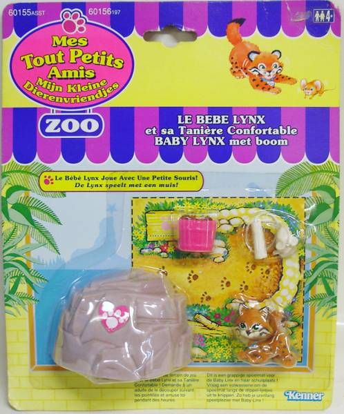 Littlest Pet Shop - Kenner - Zoo Baby Bobcat