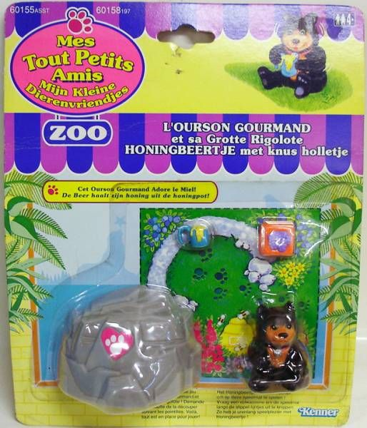 Littlest Pet Shop - Kenner - Zoo Honey Bear