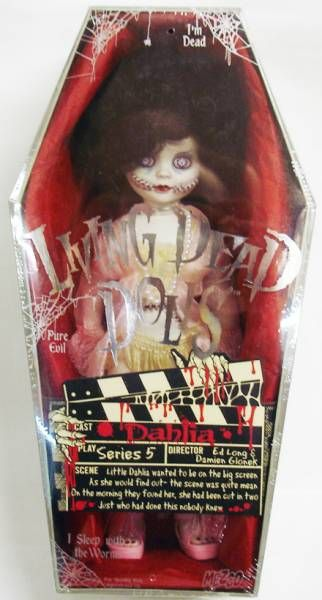 Living Dead Dolls Series 5 - Mezco - Dahlia