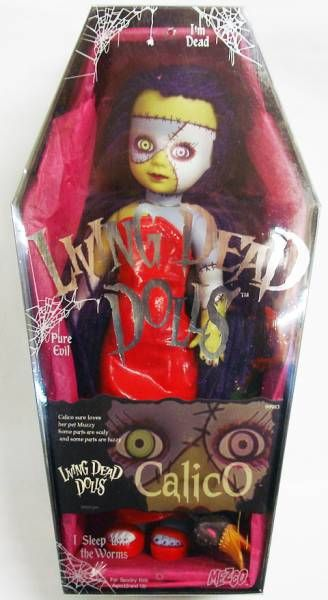 Living Dead Dolls Series 6 - Mezco - Calico