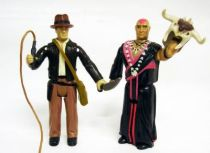 LJN - Indiana Jones and the Temple of Doom - Indy & Mola Ram (loose)