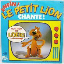 Loeki le Petit Lion - Disque 45Tours -  Ades 1985