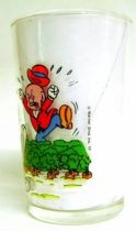 Looney Tunes - Amora Mustard Glass - Bugs Bunny & Ernest
