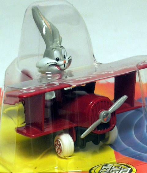 Looney Tunes - Ertl Die-cast - Bugs Bunny in plane (Mint on Card)