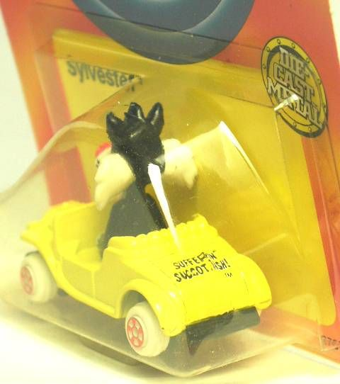 Looney Tunes - Ertl Die-cast - Sylvester in car (Mint on Card)