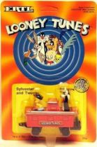 Looney Tunes - Ertl Die-cast - Tweety and Sylvester in wagon (Mint on Card)
