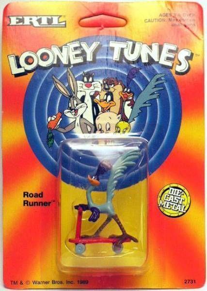 Looney Tunes - Ertl Die-cast figure - Road Runner (Mint on Card)