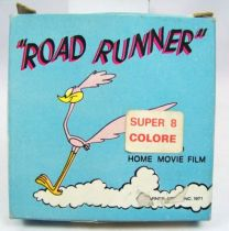 Looney Tunes - Film Couleur Super 8 (Techno Film) - Road Runner (Bip-Bip) à travers les nuages (ref. RR754)