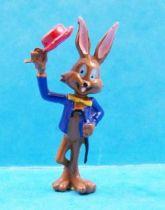 Looney Tunes - Heimo PVC Figure - Bugs Bunny (blue jacket)