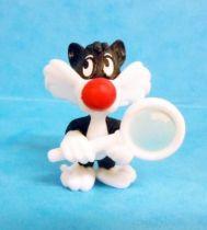 Looney Tunes - Kinder Surprise Premuim Figure 1991- Sylvester Junior with magnifying glass