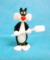 Looney Tunes - Kinder Surprise Premuim Figure 1991- Sylvester with shovel