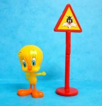 Looney Tunes - Kinder Surprise Premuim Figure 1991- Tweety with panel signal