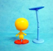 Looney Tunes - Kinder Surprise Premuim Figure 1991- Tweety with perch