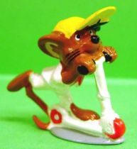 Looney Tunes - Mini PVC Figure 1999 - Speedy GonzalesTrotinette