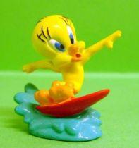 Looney Tunes - Mini PVC Figure 1999 - Tweety Surfer