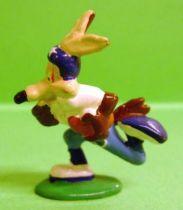 Looney Tunes - Mini PVC Figure 1999 - Wile E. Coyote Footballer