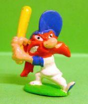 Looney Tunes - Mini PVC Figure 1999 - Yosemite Sam Baseball