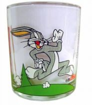 Looney Tunes - Nutella Glass - Bugs Bunny, Daffy Duck & Ernest
