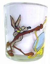 Looney Tunes - Nutella Glass - Road Runner & Wile E. Coyote