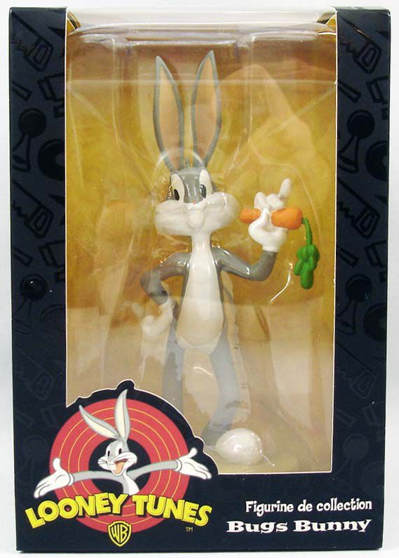 looney tunes resin figure warner bros bugs bunny. Black Bedroom Furniture Sets. Home Design Ideas