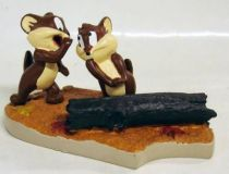 Looney Tunes - Resin Statue Warner Bros. - Goofy Gophers Mac & Tosh