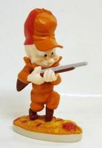 Looney Tunes - Statuette résine Warner Bros. - Elmer Fudd le Chasseur