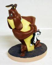 Looney Tunes - Statuette résine Warner Bros. - Marc Antoine et Pussyfoot