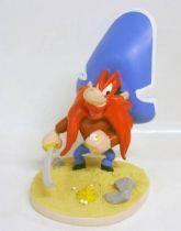 Looney Tunes - Statuette r�sine Warner Bros. - Sam le Pirate en pirate