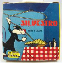 Looney Tunes - Super 8 Color Movie (Mini-Film) - Tweety serves as bait (ref. SIL67)