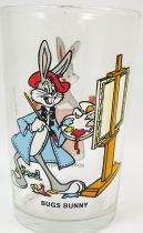 Looney Tunes - Verre à Moutarde Amora - Bugs Bunny & Honey Bunny