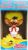 Looney Tunes - Wacky Wobbler Bobble-Bank - Speedy Gonzales